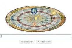 Google tra le stelle: un doodle per Niccolò Copernico