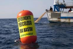 Greenpeace: irruzione nei mari della Sicilia con la nave super tecnologica