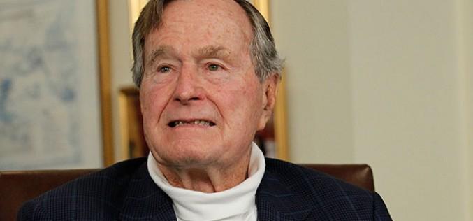 Hacker pubblica le email dell'ex presidente USA George W.H. Bush