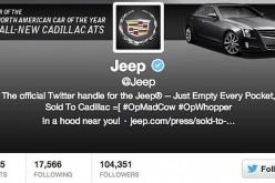 Hackerato il profilo Twitter di Jeep dopo quello di Burger King
