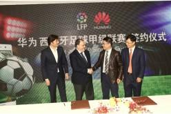 Huawei annuncia la partnership con la Lega Calcio Spagnola