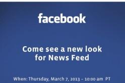 Il 7 marzo arriva un nuovo Facebook