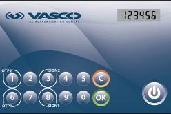 Il design esclusivo di DIGIPASS 280 offre la strong authentication in forma di carta di credito