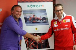 Kaspersky Lab sponsor della Scuderia Ferrari