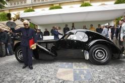 La Bugatti 57SC Atlantic domina il Concorso d'Eleganza villa d'Este 2013