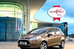 La Ford B-MAX vince il premio internazionale AUTOBEST 2013