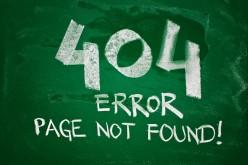 """La parola più usata dai media è 404, """"pagina non trovata"""""""