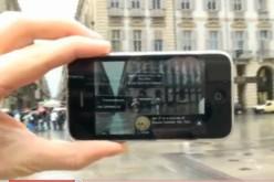 La realtà aumentata di Pagine Gialle sull'iPhone