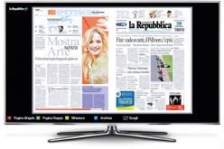 La Repubblica si legge in TV!
