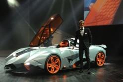 Lamborghini Egoista: un jet su 4 ruote per i 50 anni dell'azienda