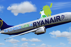 Le basse tariffe Ryanair sono ora disponibili su Android