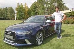 Le migliori prestazioni Audi per il fuoriclasse Kakà