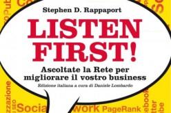 Listen first: ascoltare la Rete, ascoltare il mondo