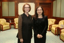 Madame Sun Yafang (Huawei) ha incontrato a Pechino il Primo Ministro australiano Julia Gillard