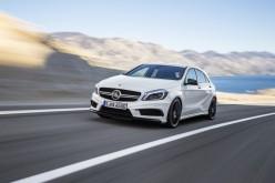 Mercedes A 45 AMG: la 4 cilindri benzina più potente al mondo