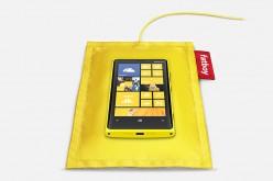 Metti a riposo il tuo Nokia Lumia sul cuscino Fatboy