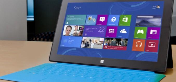Microsoft aumenta la distribuzione di Surface