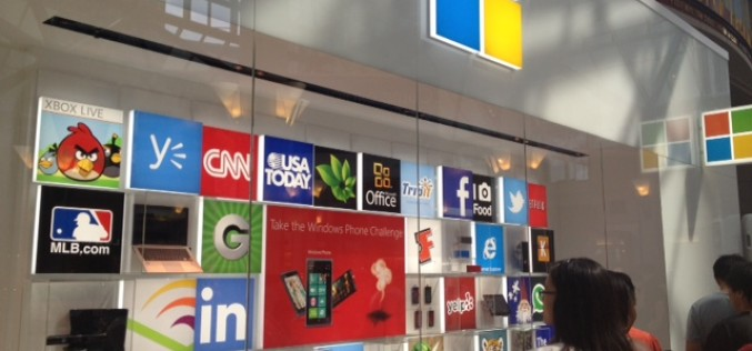 Microsoft sbarca in Europa con i suoi punti vendita