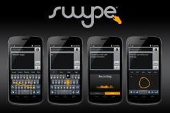 Nuance presenta Swype, la tastiera di nuova generazione