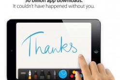Nuovo record per App Store: 50 miliardi di download, Apple ringrazia