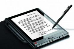 Olivetti presenta a OMAT il primo tablet per l'acquisizione della firma grafometrica