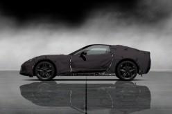 Per la prima volta al volante del prototipo della Settima Generazione di Corvette