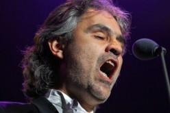 Per San Valentino Andrea Bocelli in esclusiva su Spotify