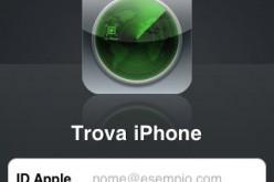 Rapinati a Genova ritrovano l'iPhone con un'app