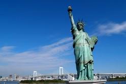 Restyling della Statua della Libertà dopo i danni di Sandy