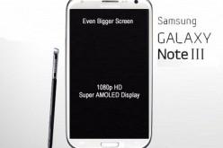 Samsung Galaxy Note III, display da 5,9 pollici
