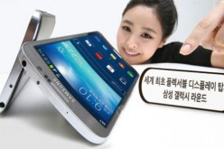 Samsung Galaxy Round: display curvo per lo smartphone che ondeggia