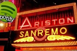 Spotify: boom di streaming per gli artisti del Festival di Sanremo