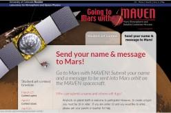 Scrivi una poesia a Marte, la NASA gliela recapiterà
