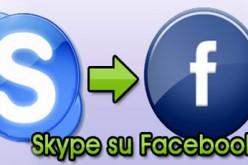 Skype arriva su Facebook