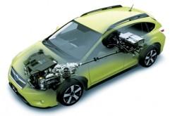 Subaru svela il prototipo XV ibrido