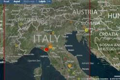 Terremoto in Toscana, le mappe interattive