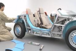 Toyota presenta Camatte 57s, l'auto che si monta come un puzzle
