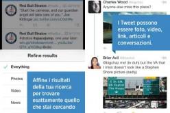 Twitter aggiunge nuovi filtri alle ricerche