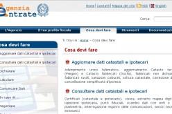 Un solo portale per le agenzie delle Entrate e del Territorio