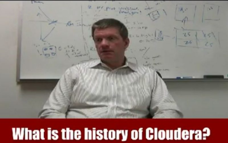 Videointervista. Cloudera – The platform for Big Data