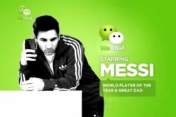 WeChat sfida WhatsApp con Messi