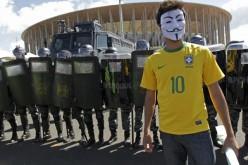 Anonymous contro la corruzione dei Mondiali di Calcio di Brasile 2014