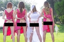 """Lato B delle spose in mostra su Twitter, scoppia la """"Bridesmaids Mooning"""" mania"""