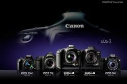 Canon EOS-1 celebra i suoi primi venticinque anni
