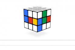Doodle cubo di Rubik, per il 40esimo anniversario si gioca su Google