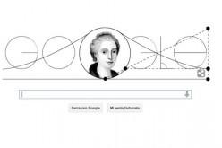 Doodle geometrico per Maria Gaetana Agnese, la matematica italiana controcorrente
