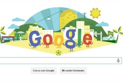 "Google: un doodle ""mundial"" per i Mondiali di calcio di Brasile 2014"