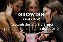 Growish: la startup per raccogliere denaro sul web e acquistare regali di gruppo