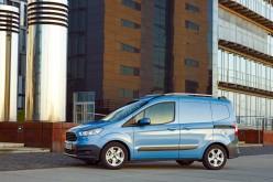 Il nuovo Ford Transit Courier: best in class per efficienza e volume di carico