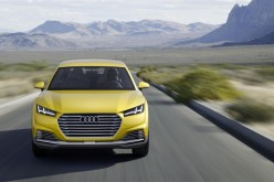 La showcar Audi TT offroad concept al Salone di Pechino 2014